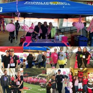 Families, Inc. participates in the 1st Annual NEA Race for the Cure